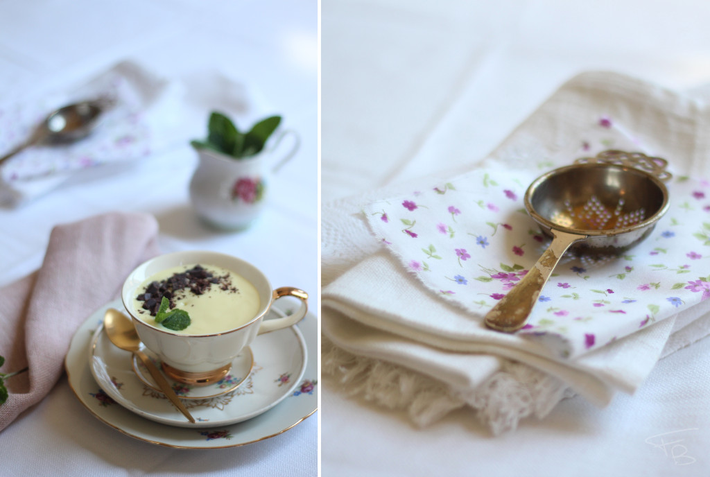 Zuppa inglese fotografata durante il corso di food photography