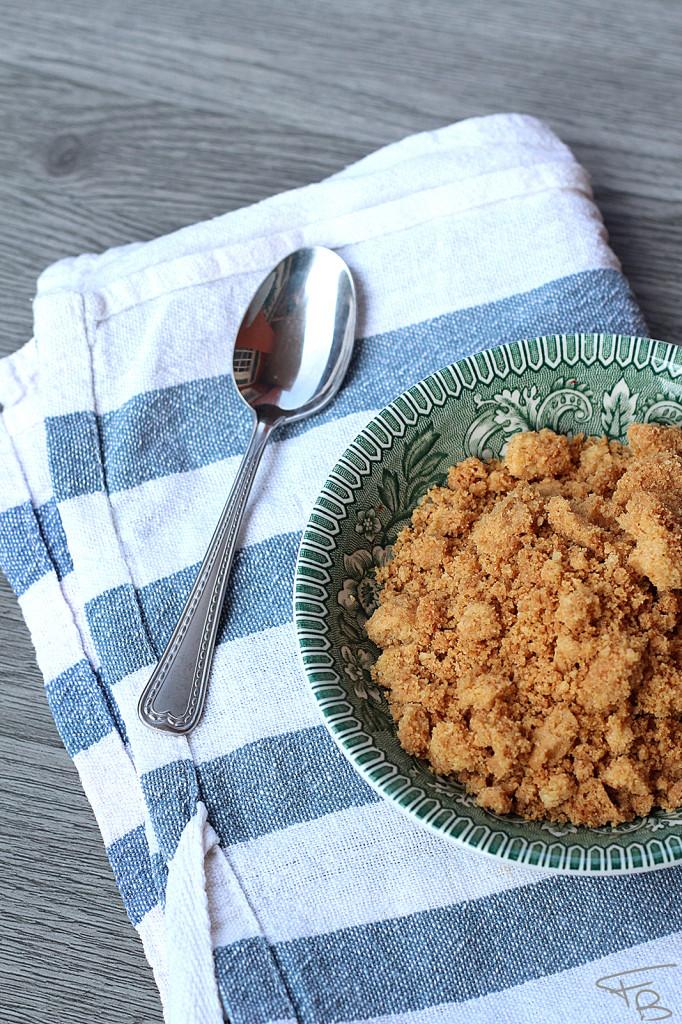 Ricetta della Cheesecake al caramello salato: i biscotti