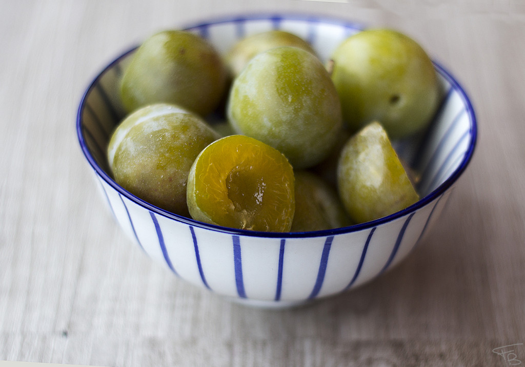 fresh fruit plum