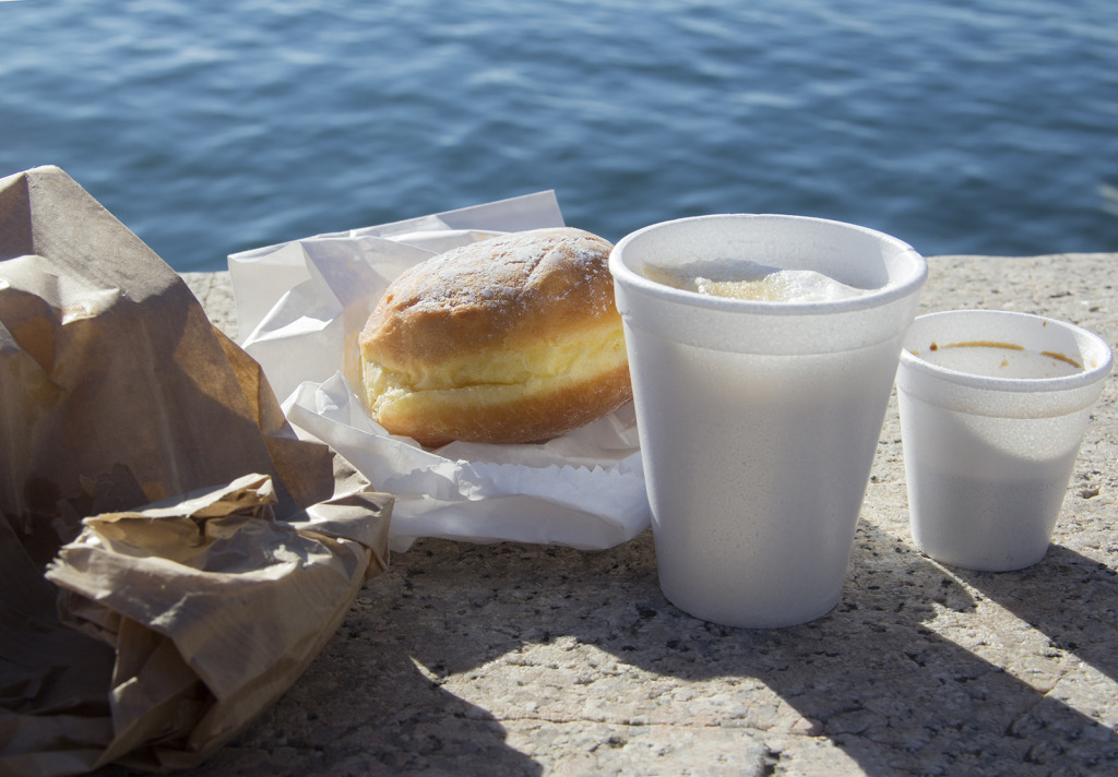 colazione sul molo